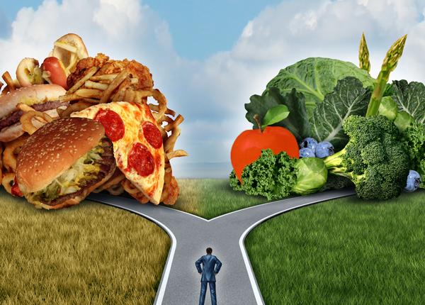 Den usunde eller sunde vej